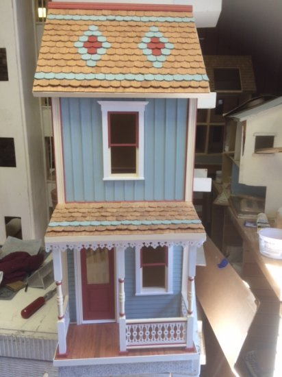 Keene Milled Dollhouse Kit - Click Image to Close