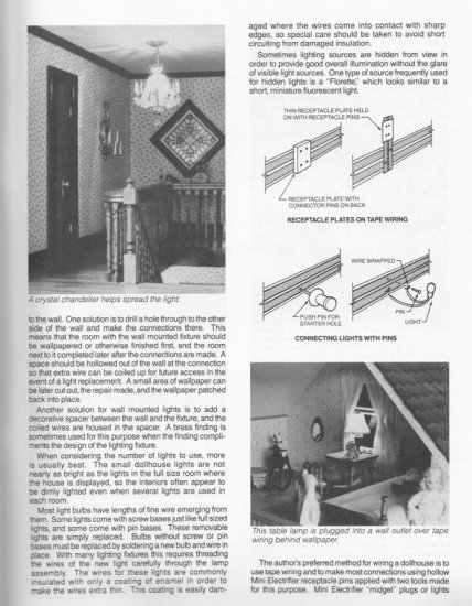 The Dollhouse Builder's HandBook Guide - Click Image to Close