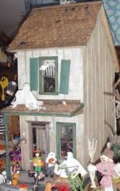 Keene Haunted House Exterior Finishing Kit 83 70
