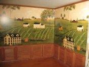 Colonial wallpaper mural ib 5030 miniature for Colonial mural wallpaper