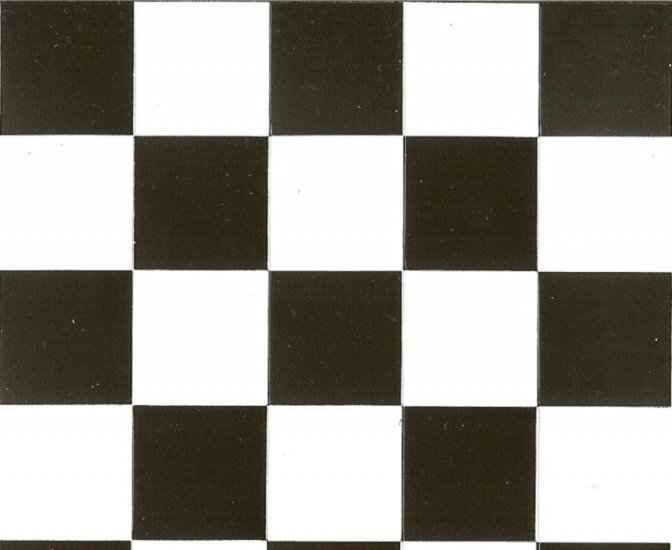 Black And White Checkered Flooring