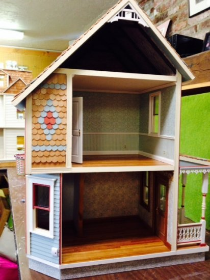 Keene Smooth Dollhouse Kit - Click Image to Close