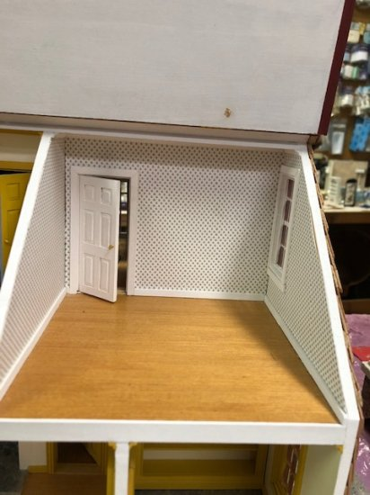 "Lyndeborough 1/2"" Dollhouse Kit - Click Image to Close"
