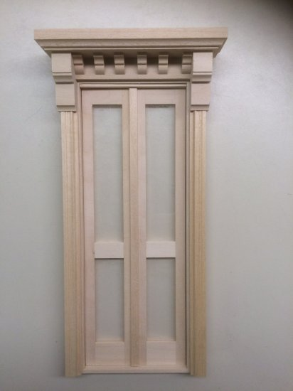 Double Full Glazed Victorian Front Door - Click Image to Close