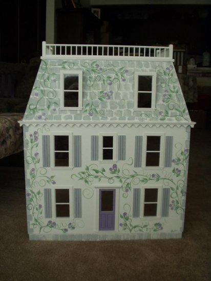Claremont Smooth Dollhouse Kit - Click Image to Close