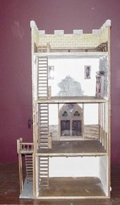 New Castle Keep Dollhouse Kit 125 00 Miniature