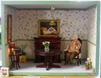 Room Box Kit Simple Style 30 00 Miniature