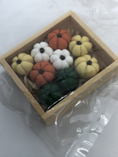 B0128 CRATE WITH 9 PUMPKINS - Click Image to Close