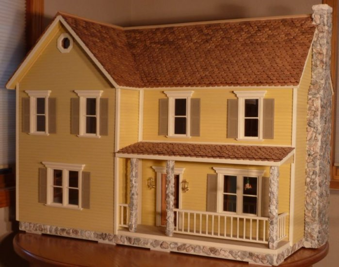 Barnstead Milled Dollhouse Kit - Click Image to Close
