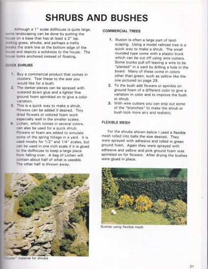 The How to Book of Miniature Landscaping - Click Image to Close