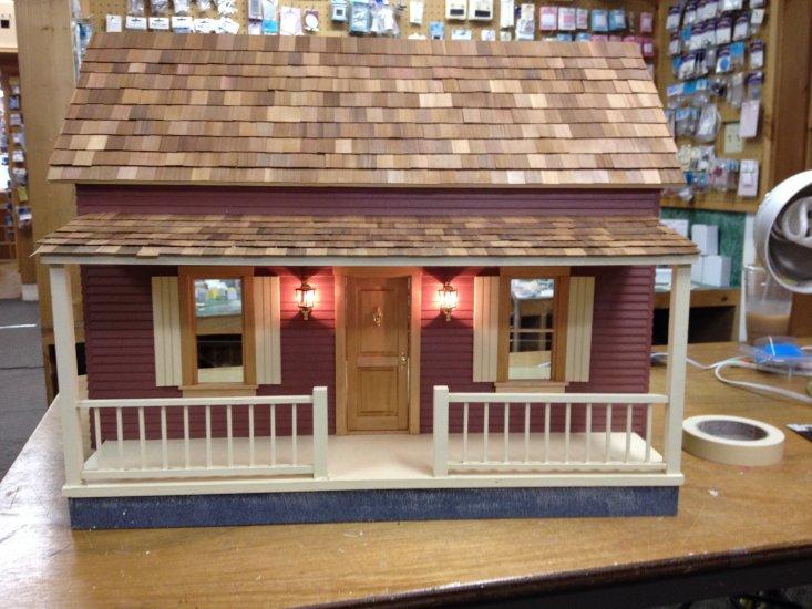 Square Cedar Dollhouse Shingles