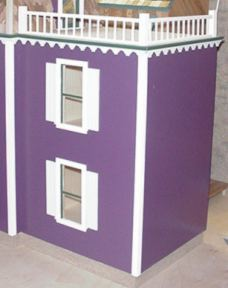 Smooth Flat Roof Two Story Addition Kit Affordordable Series