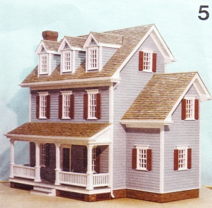 free miniature dollhouse plans | Moondel Woodplan