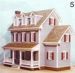 Design #5 [AC 4380] - $18.00 : Miniature Dollhouses & Doll House ...