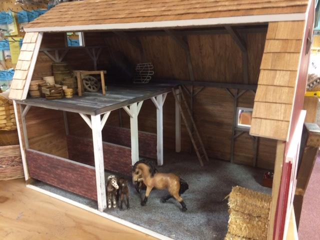 Marvelous Barn Dollhouse Kit 110 00 Miniature Dollhouses Doll Beutiful Home Inspiration Truamahrainfo