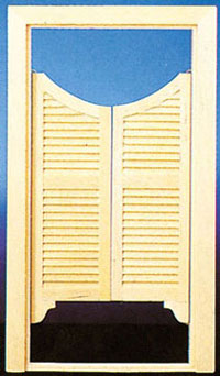 Double Swinging Door Cla70134 12 00 Miniature