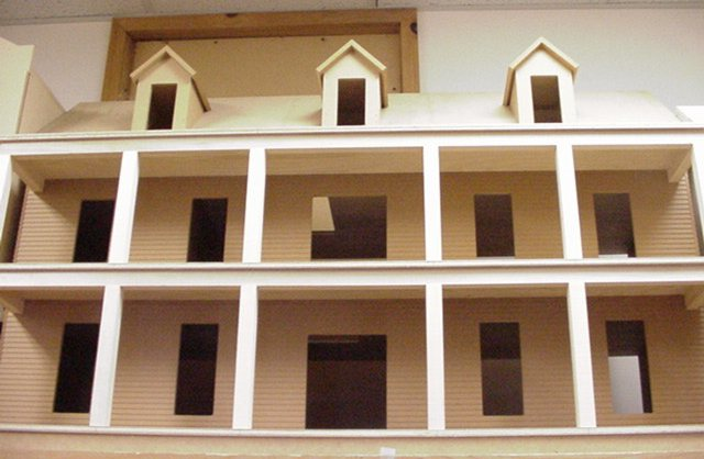 Charleston Milled Dollhouse Kit