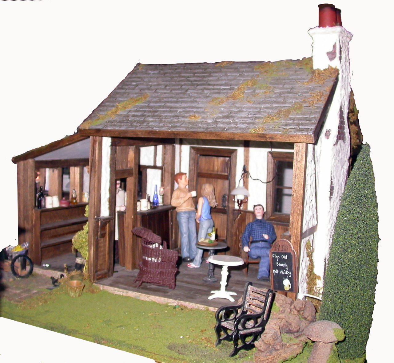 English Pub Dollhouse Kit 65 00 Miniature Dollhouses