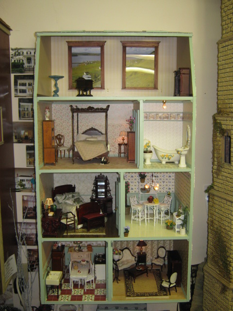 Hampton Dollhouse Kit 112 00 Miniature Dollhouses