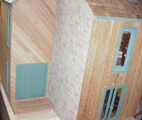 Merrimack Exterior Finishing Kit Miniature Dollhouses Doll House Supplies Earth