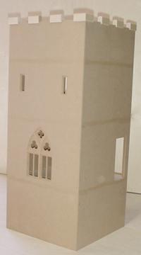 new castle keep plan miniature dollhouses. Black Bedroom Furniture Sets. Home Design Ideas