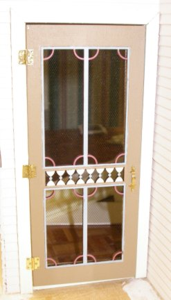 Victorian Screen Door, 2 7/8 X 6 11/16 H Click To Enlarge