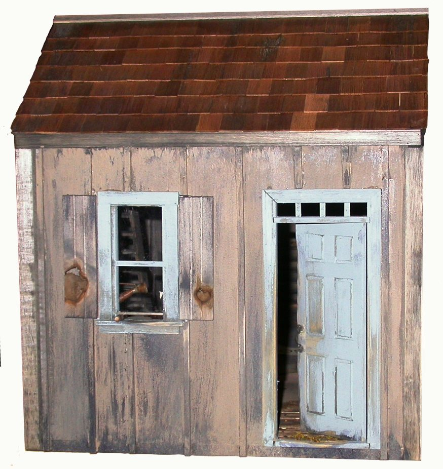 Potters Place Smooth Dollhouse Kit 52 00 Miniature