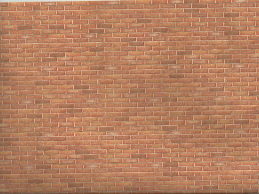 Dollhouse Antique Brick Wall Paper by World Model Miniatures