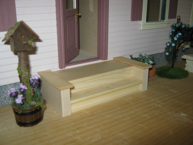 Exterior Front Steps Miniature Dollhouses Amp Doll House