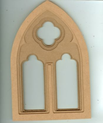 Medieval Influenced Gothic Window Medieval Influenced