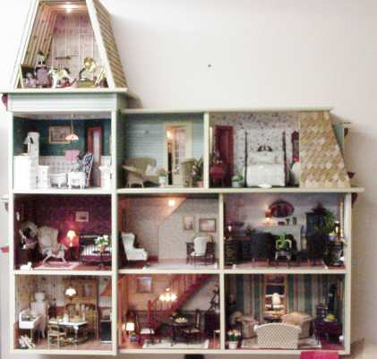 Wallhouses Miniature Dollhouses Amp Doll House Supplies