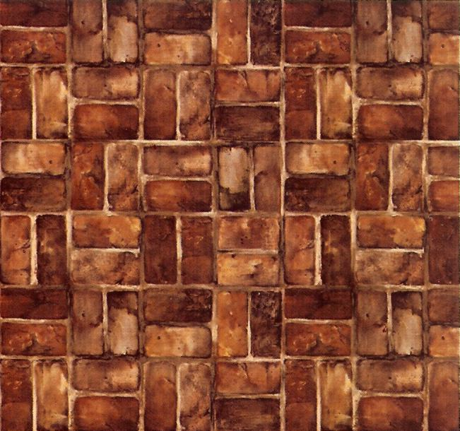 dollhouse wallpaper flooring and brick - photo #6