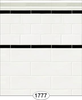 Dollhouse Wallpaper Decorative Tile Wall or Floor