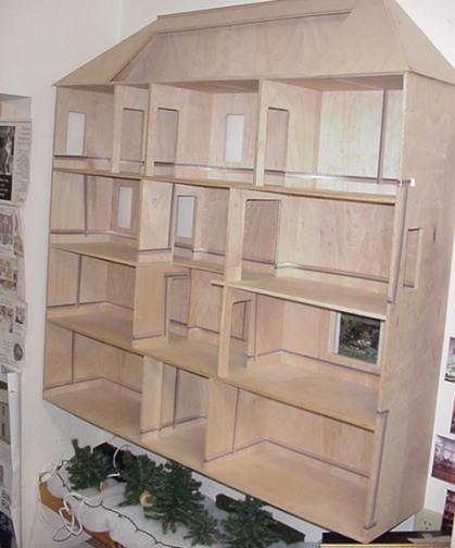 Pleasing Fitzwilliam Dollhouse Kit 293 00 Miniature Dollhouses Doll Wiring 101 Ivorowellnesstrialsorg