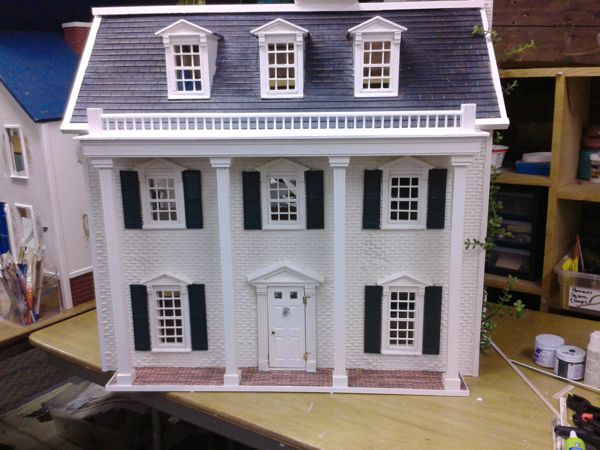 Tara Gone With The Wind 0 00 Miniature Dollhouses