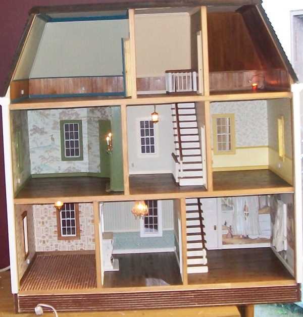Dollhouses And Miniatures & Dollhouses For Sale