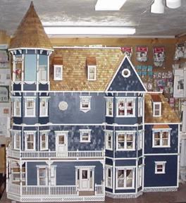 Glencliff Dollhouse Kit 732 00 Miniature Dollhouses Doll