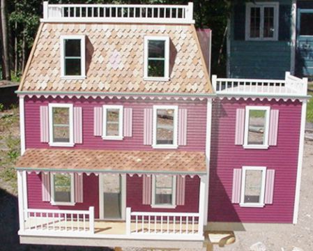 Rosemont Milled Dollhouse Kit - Click Image to Close