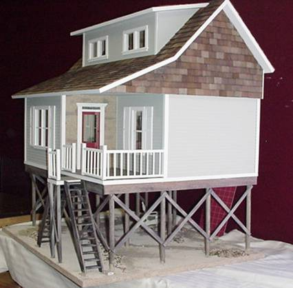 Folly Beach Milled In Dollhouse Kit 230 00 Miniature