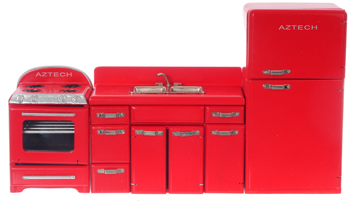 Great 1950u0027S APPLIANCE Set Red