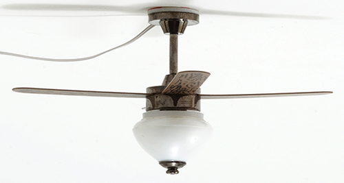 MH45168 - Ceiling Fan, Pewter, 1 light - Click Image to Close