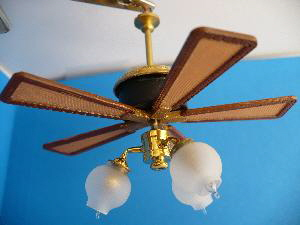 Working Ceiling Fan Savannah 186 00 Miniature
