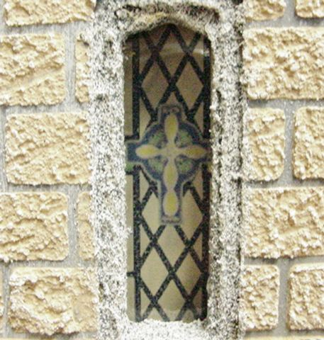 Little Window on Medieval Castle Diagram