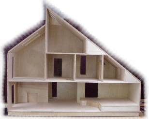 Merrimack Dollhouse Kit - Click Image to Close