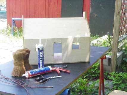 "Log Cabin Half Round 3//8/"" dia Trim molding dollhouse 20pcs basswood Seconds"